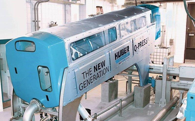 HUBER Screw Press Q-PRESS® - Huber Technology Inc